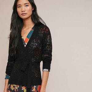 Anthropologie Wesley Wrap Cardigan